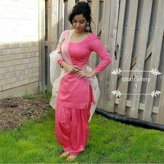 Photo by Punjabi Girls on July Image may contain: 1 person Punjabi Suit Neck Designs, Patiala Suit Designs, Neck Designs For Suits, Latest Punjabi Suits Design, Punjabi Girls, Punjabi Dress, Salwar Dress, Patiala Salwar, Salwar Suits