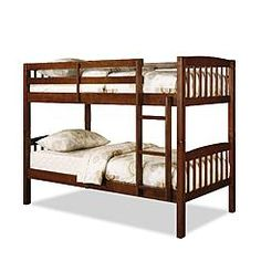 essential home belmont mates twin bed - black | bedroom ideas for