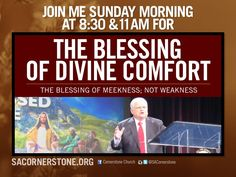 """WATCH LIVE Pastor Hagee continues his new sermon series this Sunday morning at 8:30 & 11:00 a.m. CT online at GETV.ORG. Join us for """"The Blessed Life."""" [12.6.15]"""