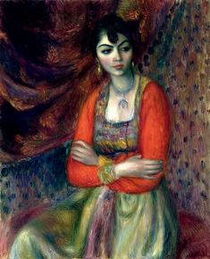 William James Glackens American, Armenian Girl 1916 Oil on canvas 32 x 26 in. x 66 cm) Image © 2013 The Barnes Foundation American Realism, American Artists, Whistler, William Glackens, Albert Barnes, Ashcan School, Robert Henri, Barnes Foundation, Williams James