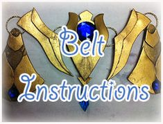 How to make Princess Zelda Armor : Belt » Firefly Path