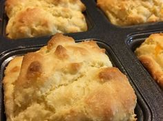 How to Make Low Carb Biscuits Recipe (cheesy garlic biscuits that are gluten free - made with almond flour - and great to use for breakfast sandwiches or to eat by themselves)