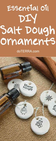 doTERRA Essential Oils DIY Salt Dough Ornaments
