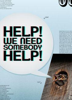 Help! - Artwork / Photomanipulation - Massimo La Sorsa