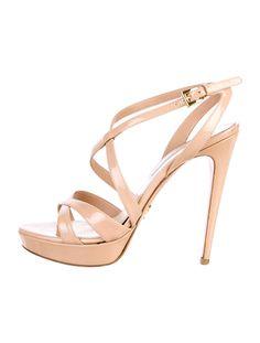 Prada Platform Sandals - Shoes - PRA36438 | The RealReal