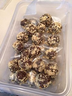 Shakeology Chocolate Peanut Butter Energy Balls - Powered by @ultimaterecipe