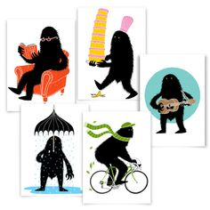The Brave Beast Screenprint Illustrators, Brave, Screen Printing, Merry, Blog, Screen Printing Press, Silk Screen Printing, Screenprinting, Illustrations