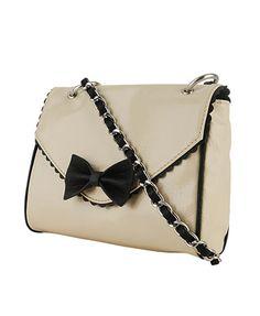 Contrast Bow Handbag  $16.80 @ Forever 21