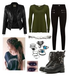 """""""fem 9 #"""" by williamkyle on Polyvore featuring Paige Denim, American Vintage, RED Valentino, Mudd and Pearls Before Swine"""