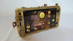 Steampunk - Phone I by PseicoElectric.deviantart.com on @DeviantArt