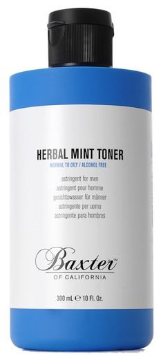 Baxter of California Herbal Mint Toner http://www.meinduft.de/herrenpflege/baxter-of-california.html