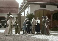 The Imperial Romanov family in Germany.A♥W
