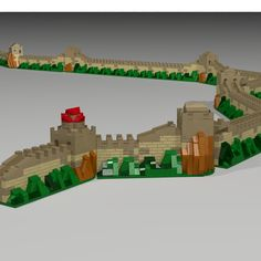LEGO Ideas - The Great Wall of China--would love to see this become a set