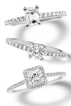 Diamond Engagement Rings from Sylvie's Bridal Collection