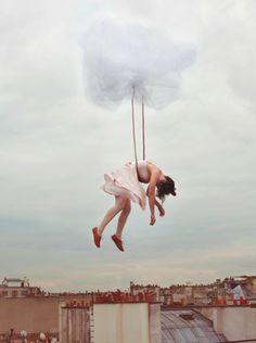 Some days, you just feel like you need to be taken away into the sky..