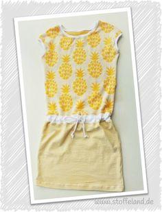 "Strandkleid-Pineapple aus Hamburger Liebe-Jacquard ""Into the Wild - Pineapple"""