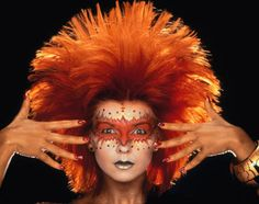 the most beautiful faces in the 80's | So this post is a little homage to Toyah Wilcox and her brilliant make ...