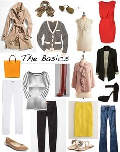MSP's Wardrobe Simplicity! Getting back to basics. Learning what you really need in your wardrobe...