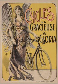 Cycles la Gracieuse & Gloria ~ Henri Thiriet   #Bicycles #Gracieuse #Gloria