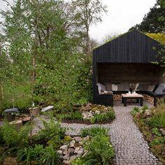 Discover garden room design ideas on HOUSE by House & Garden, including this mix of English and Norwegian garden design.