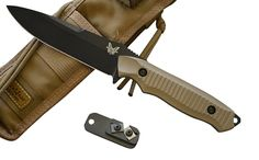 Benchmade 140BKSN Nimravus Fixed Blade Knife w/ Free Benchmade Sharpener >>> Find out more about the great product at the image link.