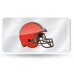 Cleveland Browns NFL Laser Cut License Plate Cover