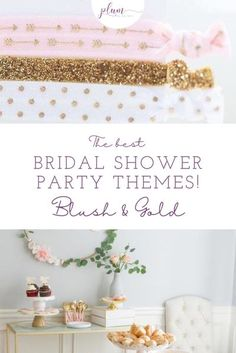 Plan the perfect bridal shower! Here are the BEST themes for 2021 / Bridal shower ideas / How to plan a Bridal Shower / Bridal Shower Inspiration / Lemon Bridal Shower / Garden / Southwest / Aloha / Something Blue / Tiffany's / Chanel / Adventure Awaits / Pearls of Wisdom Bridal Shower / Harry Potter / Friends Series / Pastel & Floral / Blush & Gold / Fiesta / Bohemian / Tea Party / Black & White Glam / Vogue Lingerie / Bubbles & Besties / Vintage Glamour / Scooped Up / Mint to Be / Rustic… Bridal Shower Party, Gold Bridal Showers, Bridal Shower Rustic, Couples Wedding Shower Invitations, Wedding Favors, Friends Series, Cool Themes, Pastel Floral, Blush And Gold