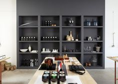the new Los Angeles boutique Garde, love those shelves