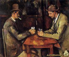 - Los jugadores de carta (Cézanne) - Buscar con Google