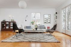 Deco idea of Scandinavian design furniture