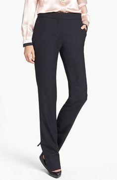 Tory Burch 'Dolly' Stretch Wool Pants $295.00
