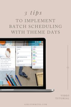 Effective Time Management, Time Management Tips, Project Management, Admin Work, Theme Days, Content Marketing Strategy, Work From Home Moms, Copywriting, Creative Business