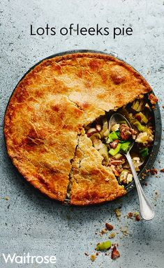 Our 'lots of leeks pie' makes for a delicious alternative to the traditional Sunday lunch. Filled with flavoursome leeks, crispy pancetta and covered in golden shortcrust pastry, this pie is definitely one to try! Check out the Waitrose website for the full recipe.
