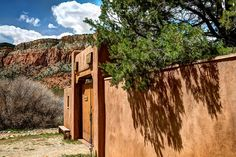 The Monastery of Christ in the Desert, New Mexico.  A wonderful place of solitude and quiet in a natural setting.