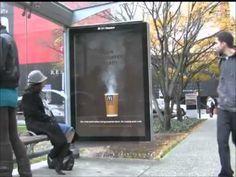Marketing guerrilla - McDonalds