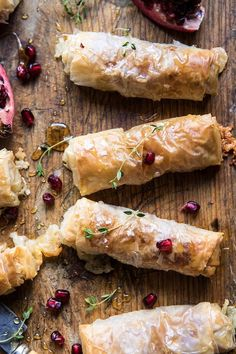 Baked Brie and Prosciutto Rolls : halfbakedharvest Fingerfood Recipes, Half Baked Harvest, Appetisers, Appetizers For Party, Clean Eating Snacks, Finger Foods, The Best, Foodies, Brunch