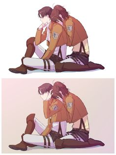 Rivaille (Levi) x Zoe Hangi OH HOLY CRAP THAT IS JUST OMG DA FEELS!!! I SHIP IT SO HARD!!