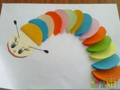Easy crafts for kids paper arts and crafts easy arts and crafts for preschoolers art craft Easy Arts And Crafts, Spring Crafts For Kids, Paper Crafts For Kids, Easy Crafts For Kids, Preschool Crafts, Art For Kids, Craft Kids, Paper Folding Crafts, Cool Paper Crafts