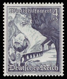 "The theme for the set was landscapes in ""Ostmark "" (the Nazis' new name for Austria after its absorption into the Reich) and alpine flowers. Germany (Deutsches Reich ) 1938, 18. Winterhilfswerk: Ostmarklandschaften und Alpenblumen. | eBay!"