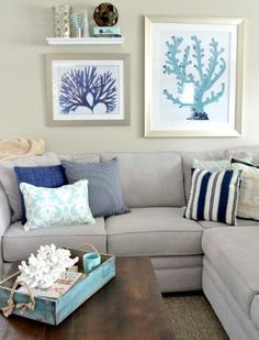 Perfect Coastal Paint Color Schemes Inspired From The Beach