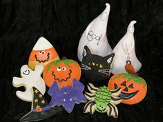 Halloween Cookies 2009 by East Coast Cookies, via Flickr