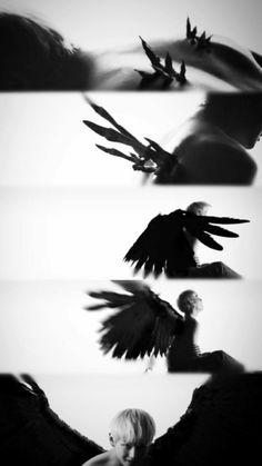 V Wings, Vkook, Blood Sweat And Tears, Night Aesthetic, Digital Art Girl, About Bts, Bts Korea, V Taehyung, Bts Members