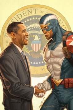 president and captain america