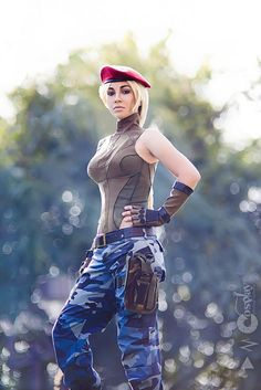 """Cammy White Of """"Street Fighter"""" [Cosplay]"""