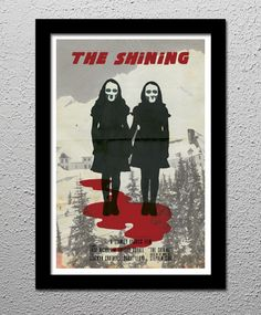 The Shining Jack Nicholson Stanley Kubrick Stephen King Horror Movie Original Limited Edition Poster created by Cult Classic Posters for sale at MoreThanHorror.com