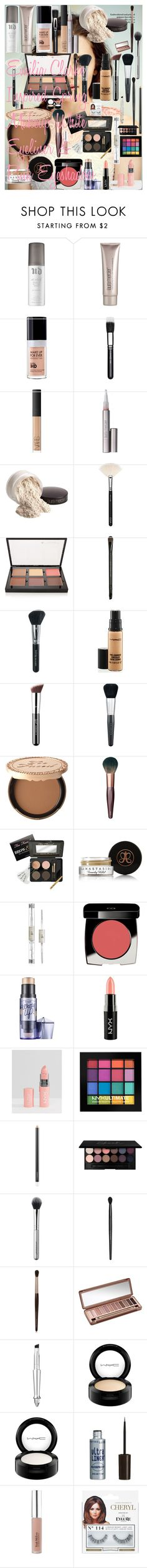 """""""Emilia Clarke Inspired Spring Makeup ♡ White Eyeliner & Pink Eyeshadow"""" by oroartye-1 on Polyvore featuring beauty, Urban Decay, Laura Mercier, MAKE UP FOR EVER, MAC Cosmetics, NARS Cosmetics, ZOEVA, Anastasia Beverly Hills, Bare Escentuals and Isadora"""