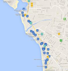 puerto vallarta hotel zone hotel map more details hotels resorts links landmarks malls and more at