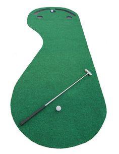 Amazon.com : Indoor Golf Practice Cups Training Mat Putting Green Par Ball Home Office Floor : Toys & Games