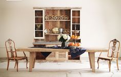 traditionally inspired rustic furniture | Bowen House | Los Angeles, California