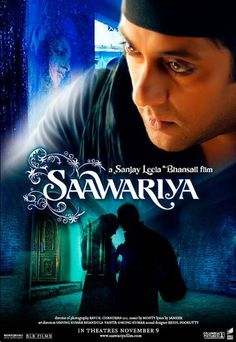 #Saawariya, Bollywood movie poster.